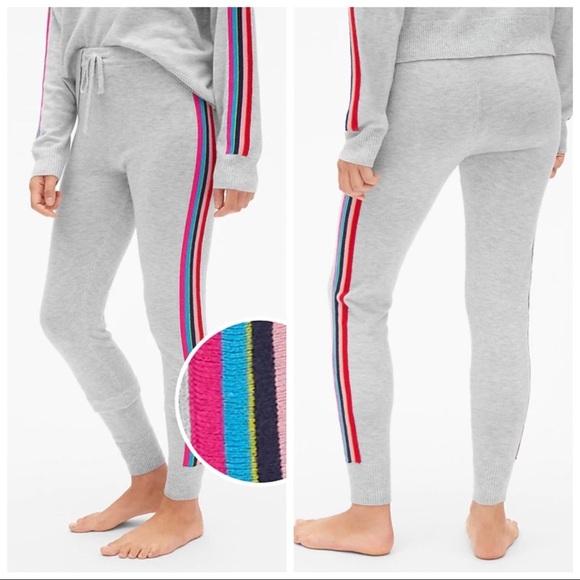 ab9f66c89f1c3 GAP Pants   Side Stripe Sweater Leggings   Poshmark